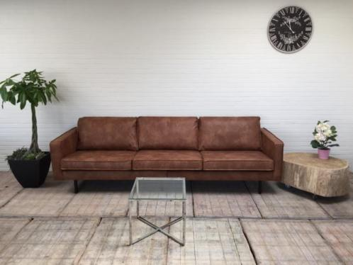 Fabulous BePure Rodeo 3-zits bank Cognac - PAND 28 | Lounge & Living #MF23
